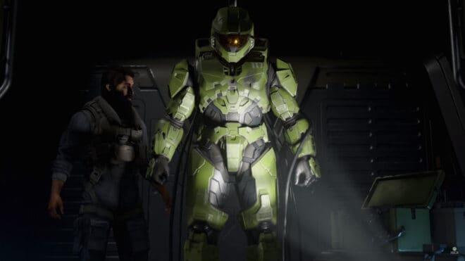 Halo Infinite s'offre une illustration avec Master Chief pour sa jaquette.
