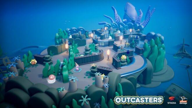 Google et Splash Damage annoncent le jeu de combat multijoueur Outcasters.