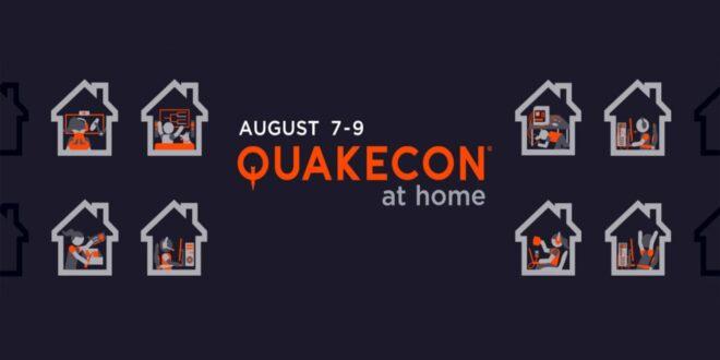 La QuakeCon at Home aura lieu du 7 au 9 août prochain.