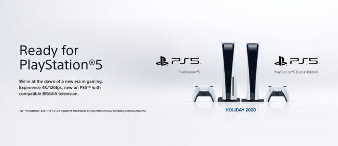 """Les téléviseurs """"Ready for PlayStation 5"""" sont mis en avant."""