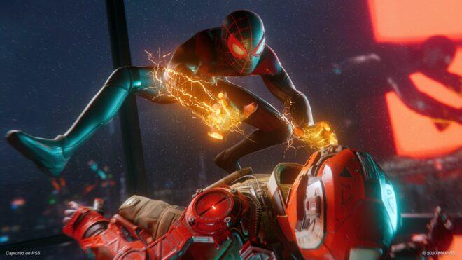 De la 4K à 60fps pour Spider-Man : Miles Morales.