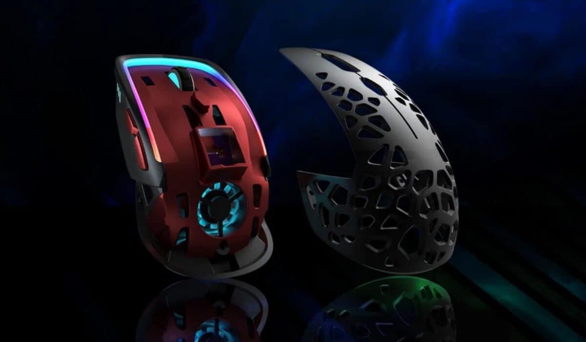 Adieu les mains moites avec cette souris gaming avec ventilateur intégré