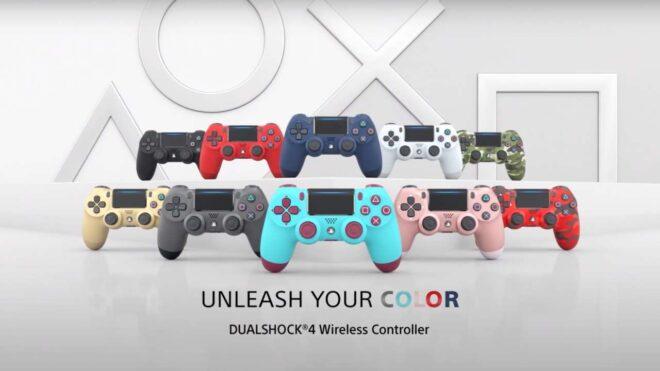 Plusieurs coloris pour la DualShock 4 sont à nouveau disponibles.