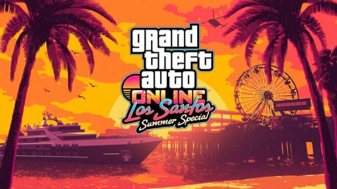 Rockstar Games lance la mise à jour Los Santos Summer Special dans GTA Online.