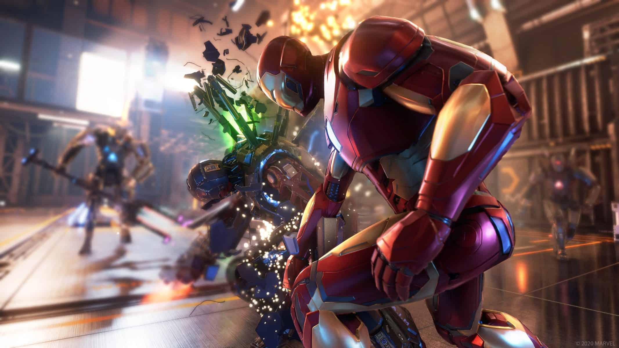 Marvel's Avengers : des contenus exclusifs sont prévus sur PS5 et PS4