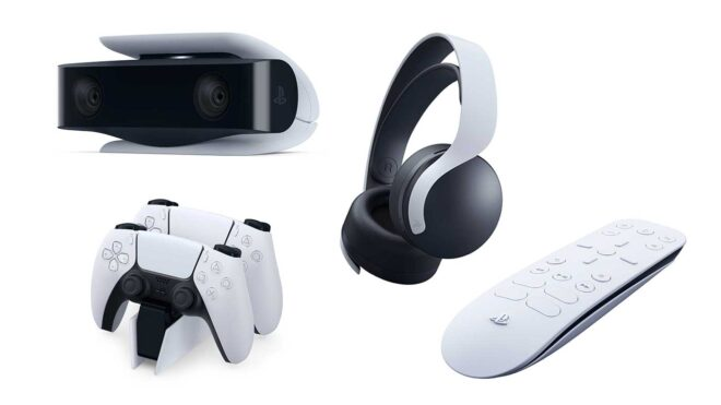 Focus sur les accessoires officielles de la PS5.