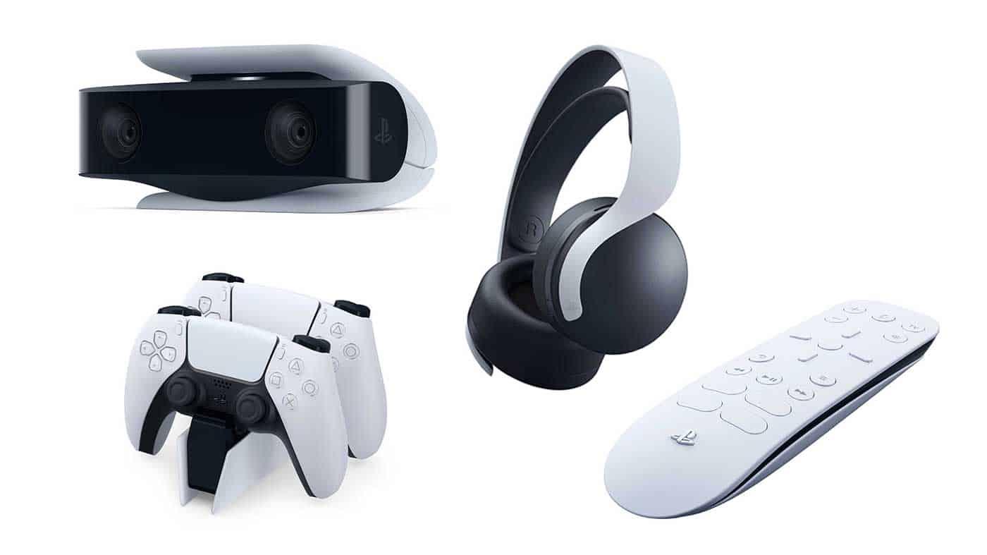 PS5 : Sony présente en détail les accessoires de sa nouvelle console