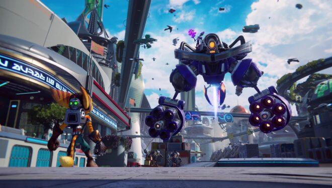 Sept minutes de gameplay en 4K pour Ratchet & Clank : Rift Apart.