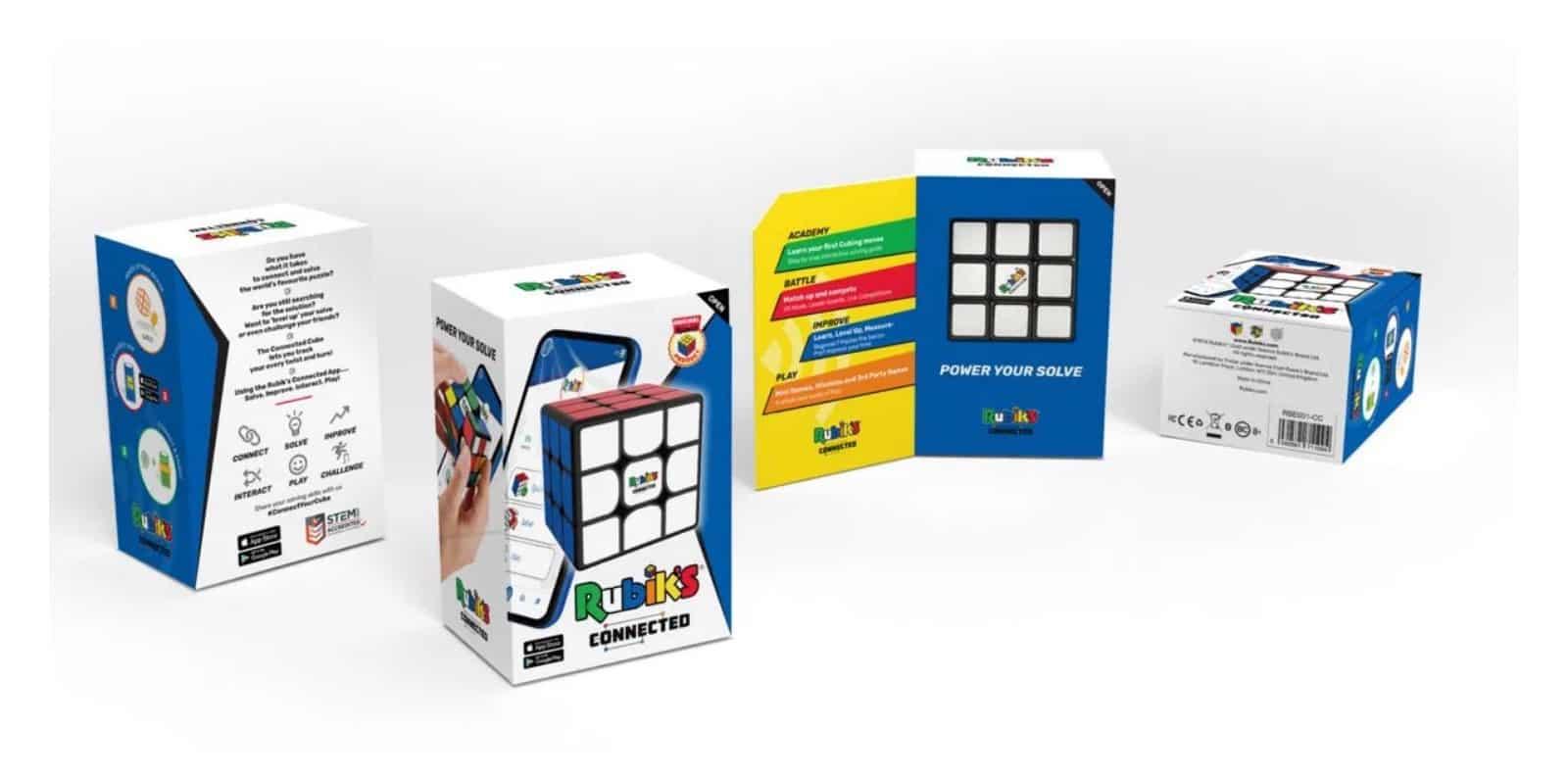 Ce Rubik's Cube Connecté vous permet de vous affronter à distance
