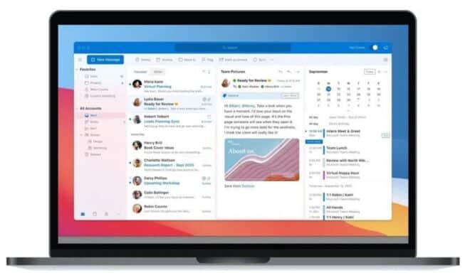 Microsoft Outlook macOS