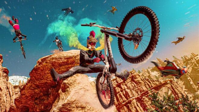 Des aventures de sports outdoors intenses et déjantées sont attendues avec Riders Republic.