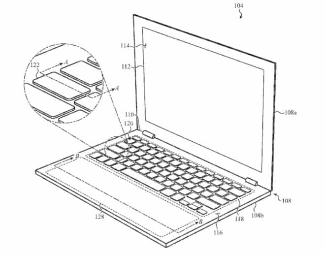 Apple MacBook brevet