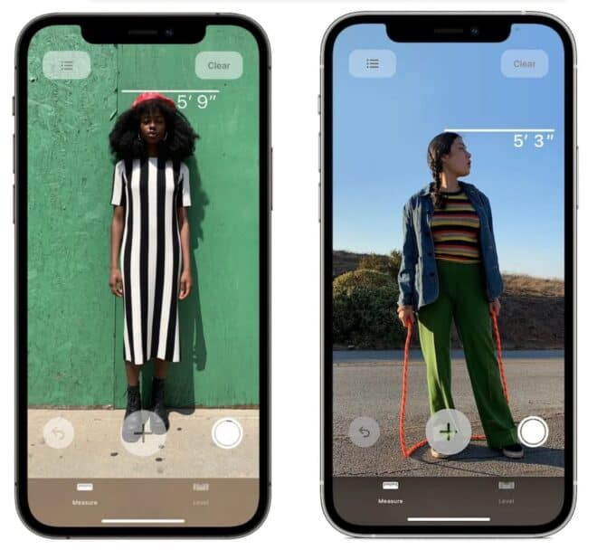 Apple iPhone 12 scanner LiDAR