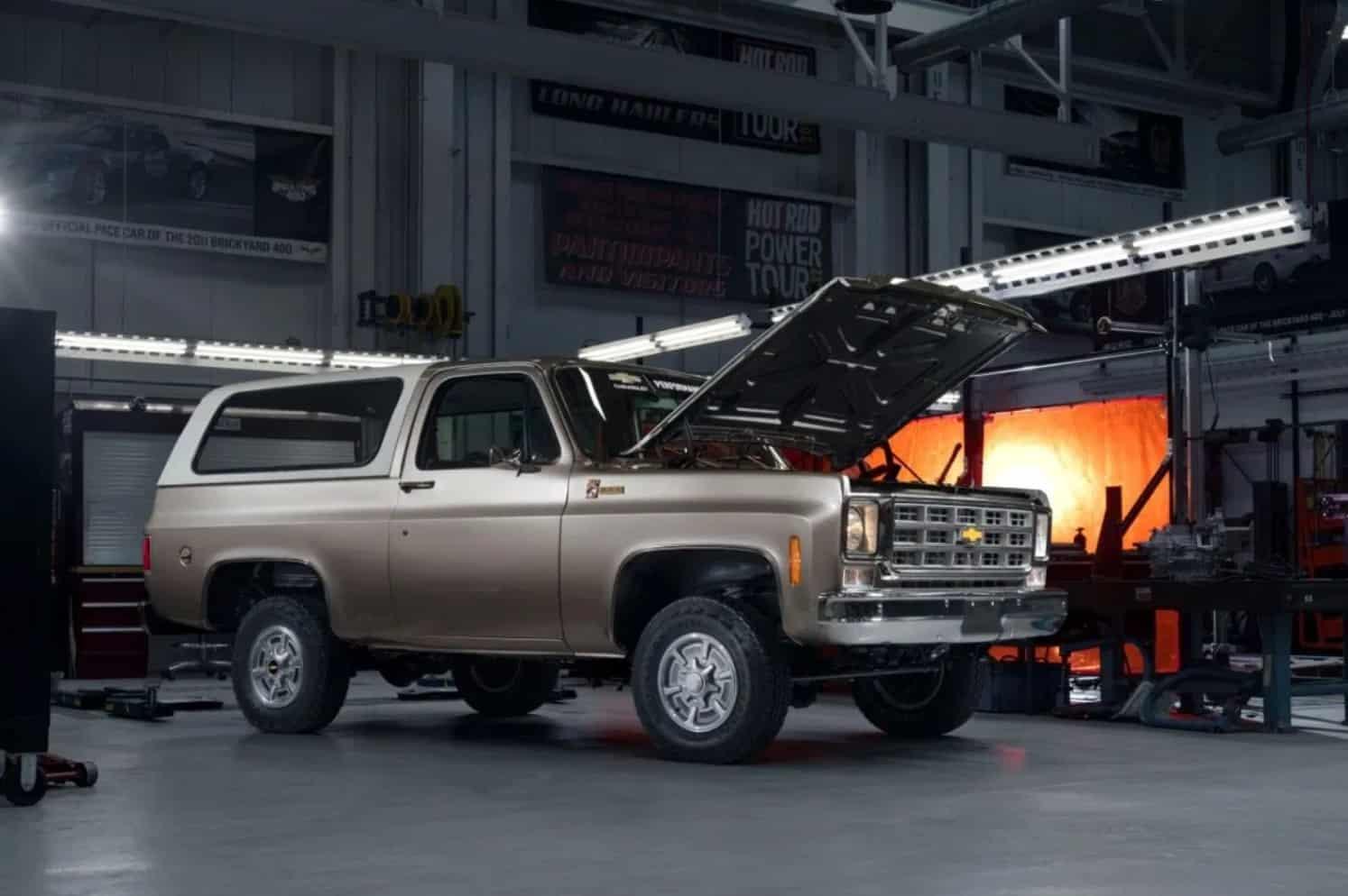Chevrolet va vendre des kits de rétrofit en 2021