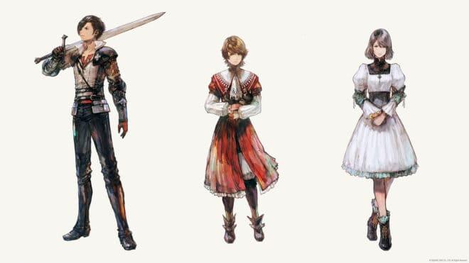 Clive Rosfield, Joshua Rosfield et Jill Warrick, trois personnages balayés par le souffle du destin dans Final Fantasy 16.