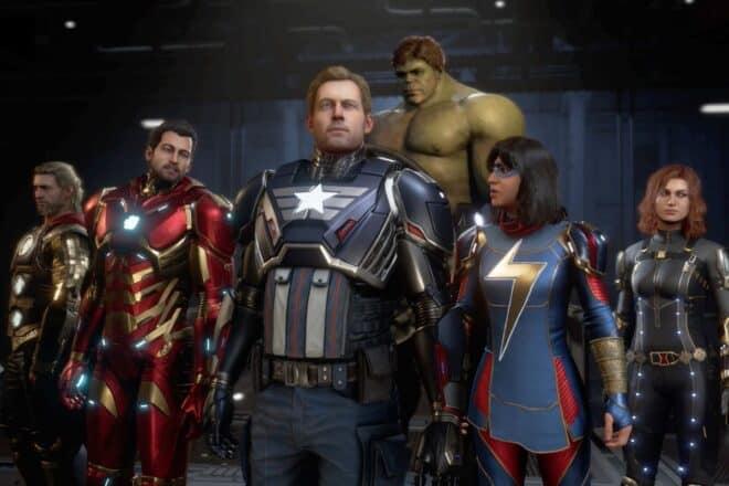 Du retard pour Marvel's Avengers sur PS5, Xbox Series X et Xbox Series S.