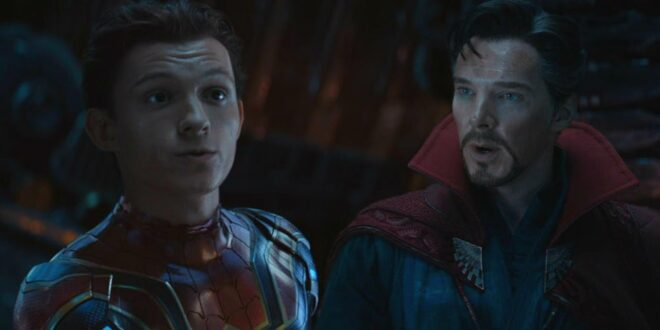 Benedict Cumberbatch is back as Doctor Strange for Spider-Man 3.