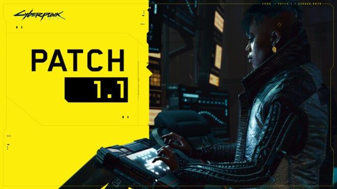 Le patch 1.1 provoque un bug dans Cyberpunk 2077.