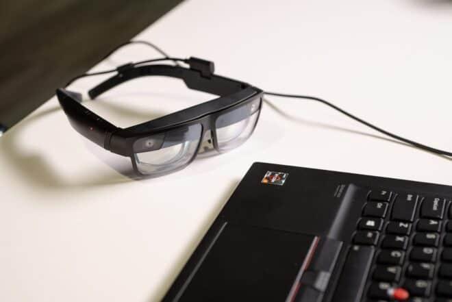 lunettes réalité augmentée Lenovo ThinkReality A3