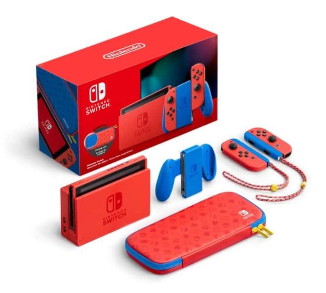 Un nouveau coloris pour la Nintendo Switch afin de célébrer les 35 ans de Mario.