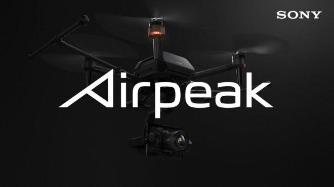 Le drone Airpeak de Sony se dévoile au CES 2021.