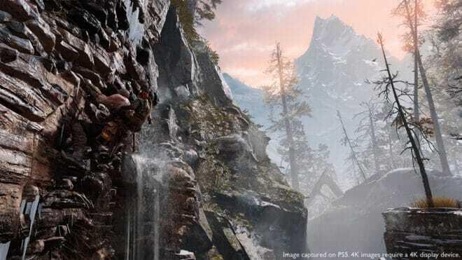 Un mode en 4K et 60 fps pour God of War sur PS5.