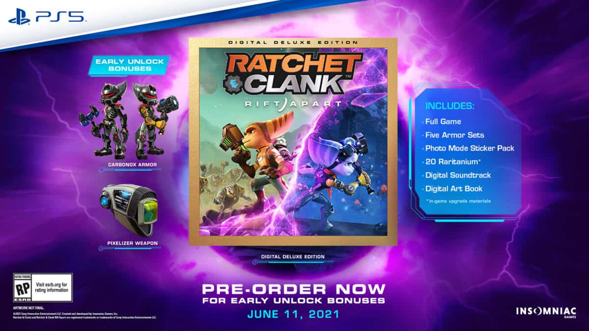 Ratchet Clank Rift Apart – Digital Deluxe Edition