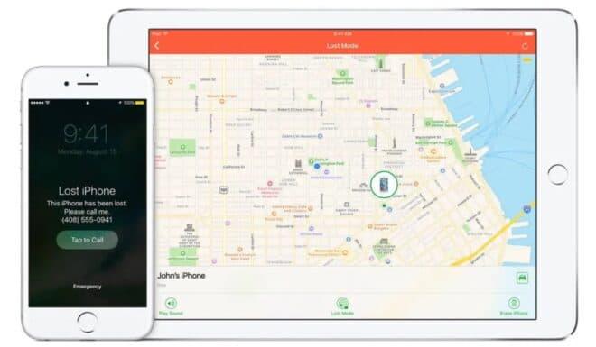 verrouillage activation iPhone Apple