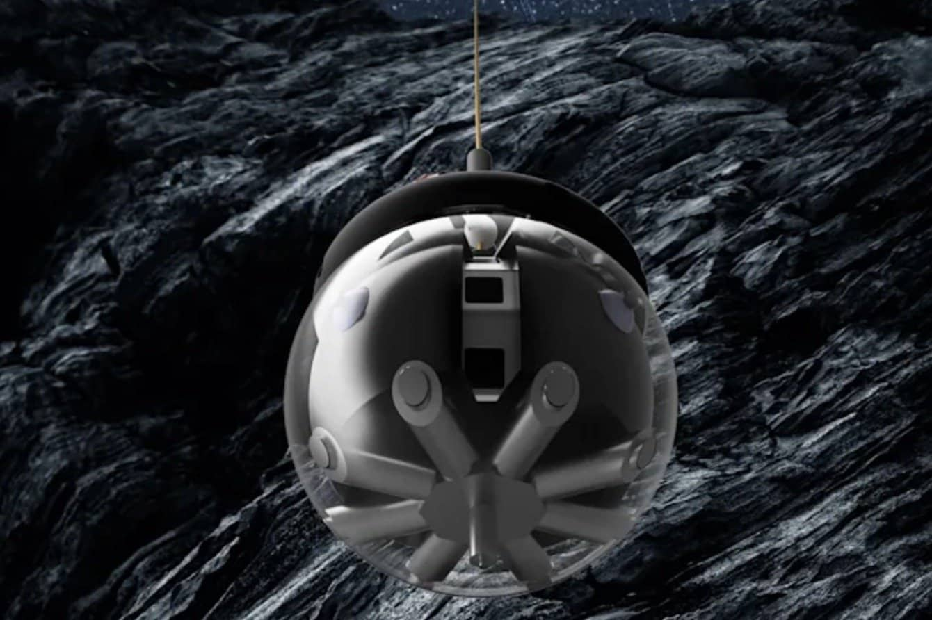 Here is DAEDALUS, the European robot who wants to explore the caves of the Moon